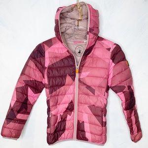 Save The Duck Ultra Light Jacket Girls Pink